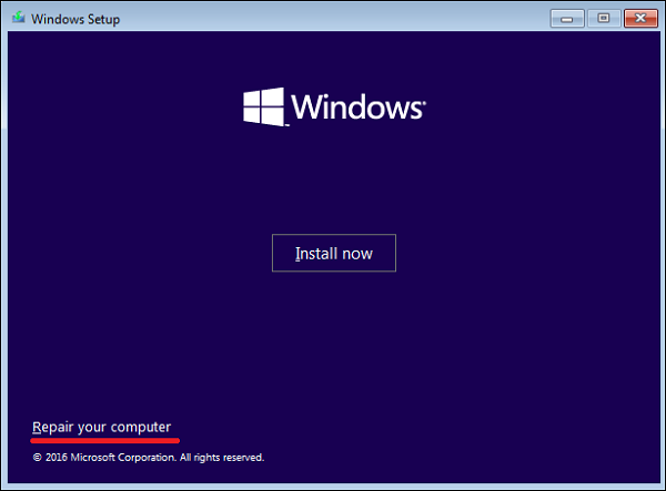 How to fix the Windows boot loader (MBR) using command prompt