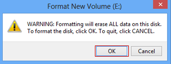 Formatting the Disk