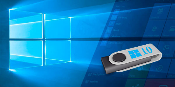 Running Windows 10 from a flash drive without a hard drive