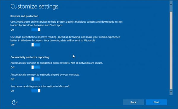 How to disable windows tracking and data collection in Windows 10